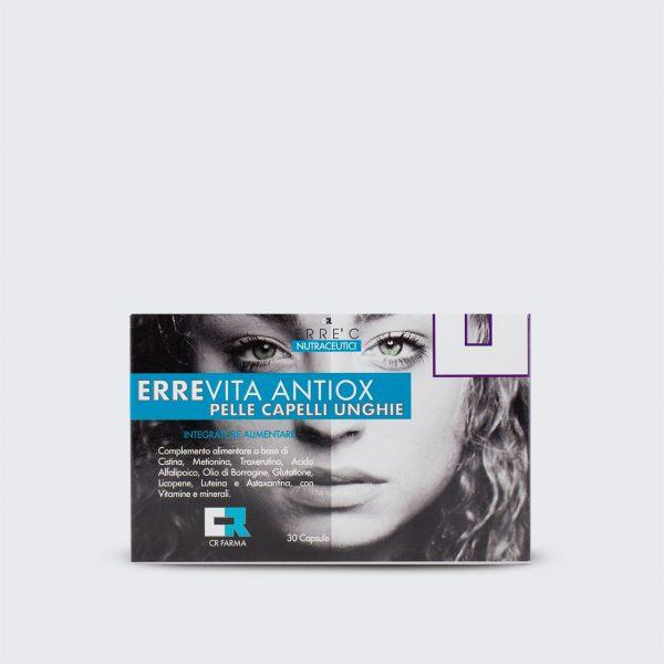 ErreVita Antiox - Integratore per pelle capelli e unghie