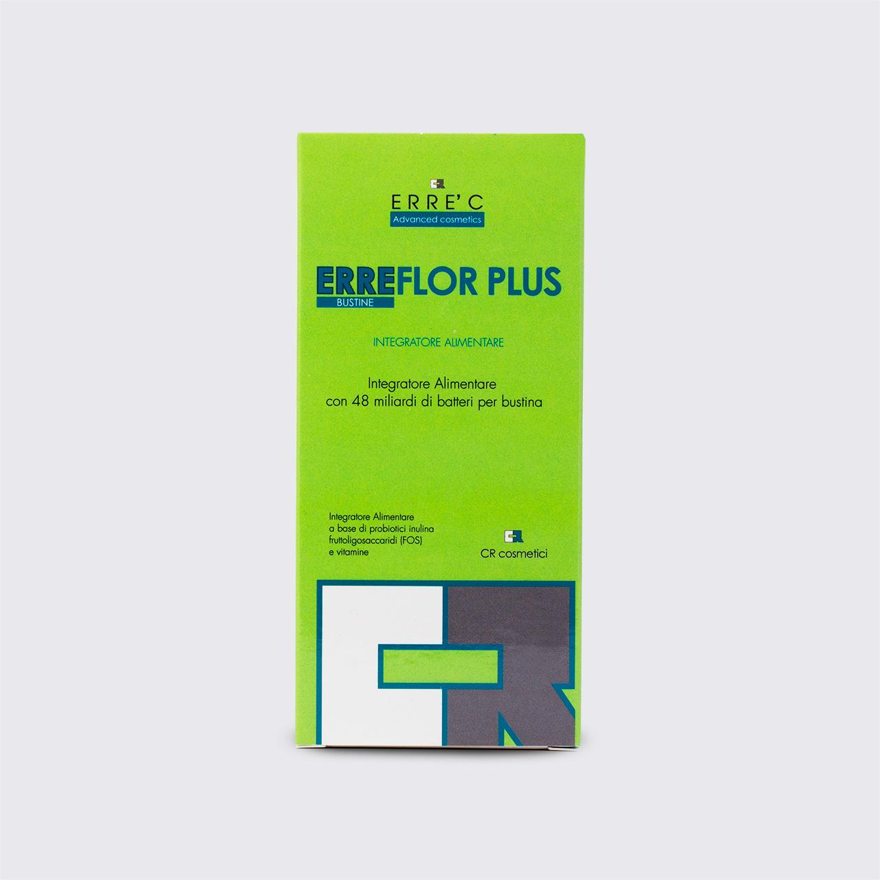 Acido Citrico Dosi Alimentari erreflor plus - integratore alimentare per equilibrio flora batterica  intestinale
