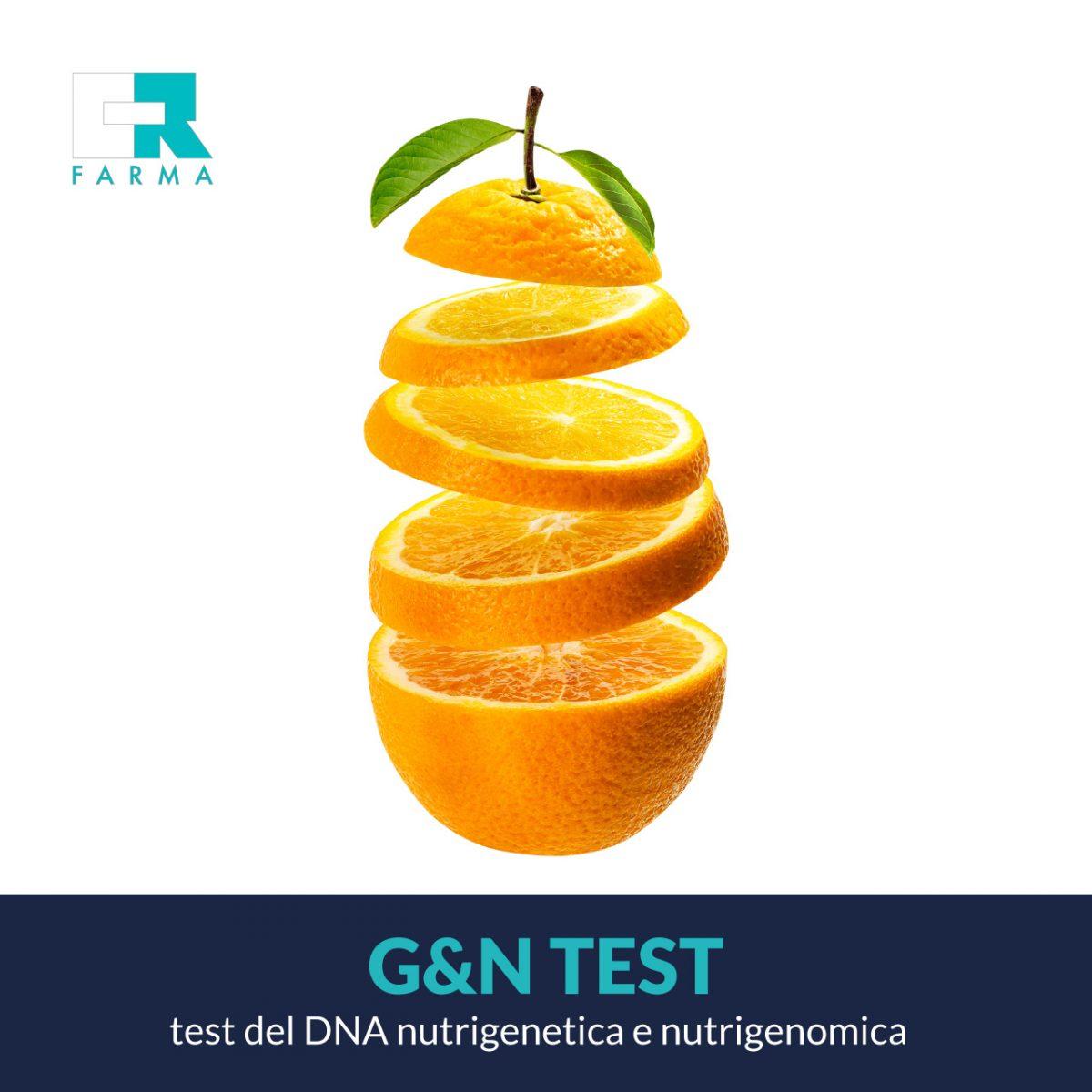 G&N test - Analisi del DNA nutrigenetica e nutrigenomica