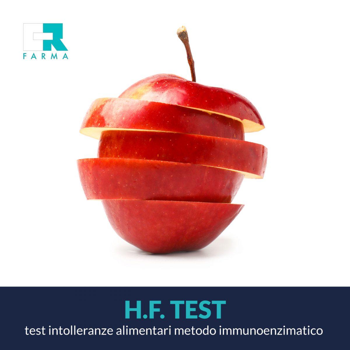 H.F. test - Analisi intolleranze alimentari