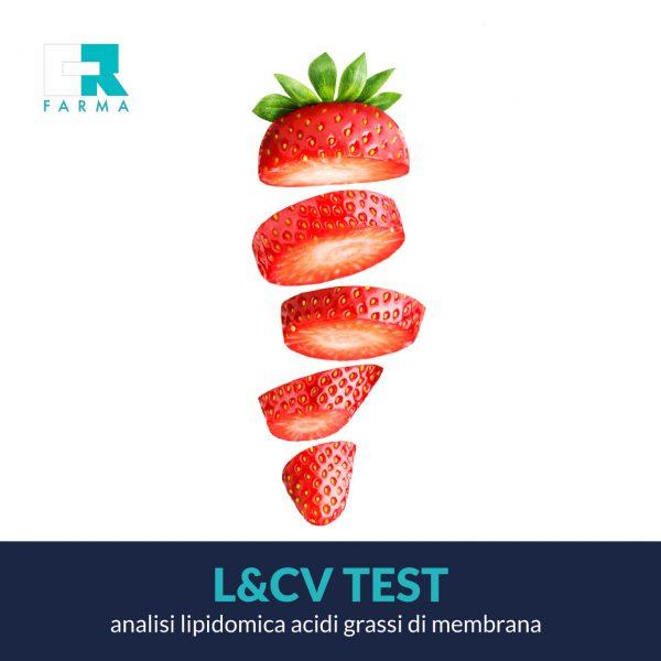 L&CV test - Analisi dei lipidi delle cellule